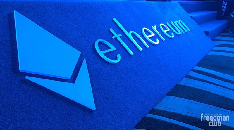 Цена Ethereum вновь превысила 400$