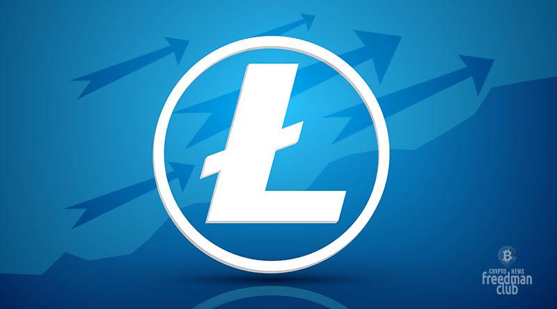 Цена Litecoin выросла