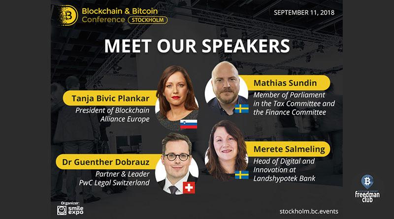 Blockchain & Bitcoin Conference Stockholm в столице Швеции