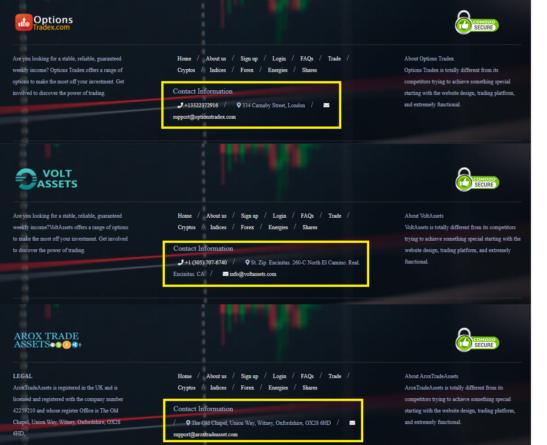Tradex: мошенническая сеть одинаковых брокерских сайтов