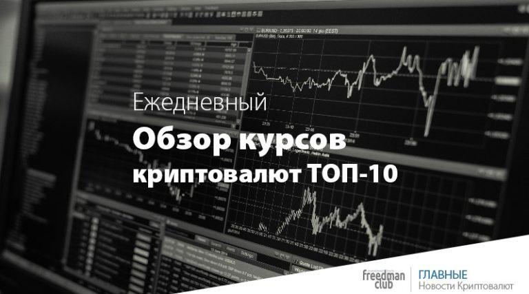 """Постоянная рубрика """"Обзор курсов ТОП-10 криптовалют — 7 октября 2021 года"""". Будем вместе каждый день видеть изменение криптовалютного рынка."""